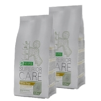 2 x Superior Care White Dog 17 kg - Mini